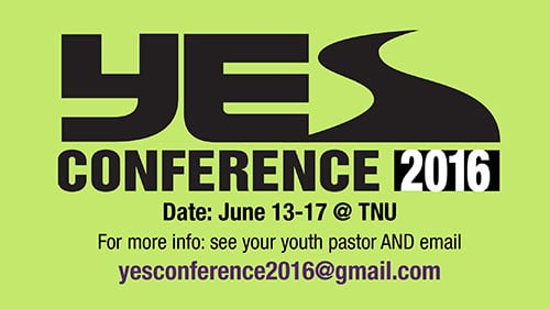 Yes Conference 2016
