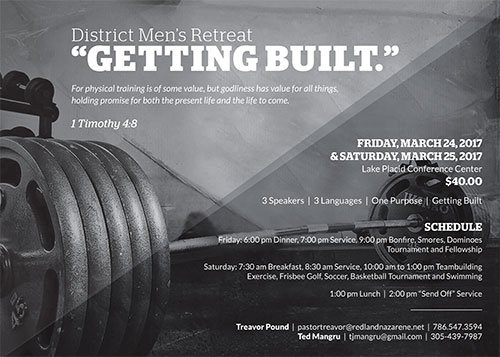 District Men's Retreat 2017